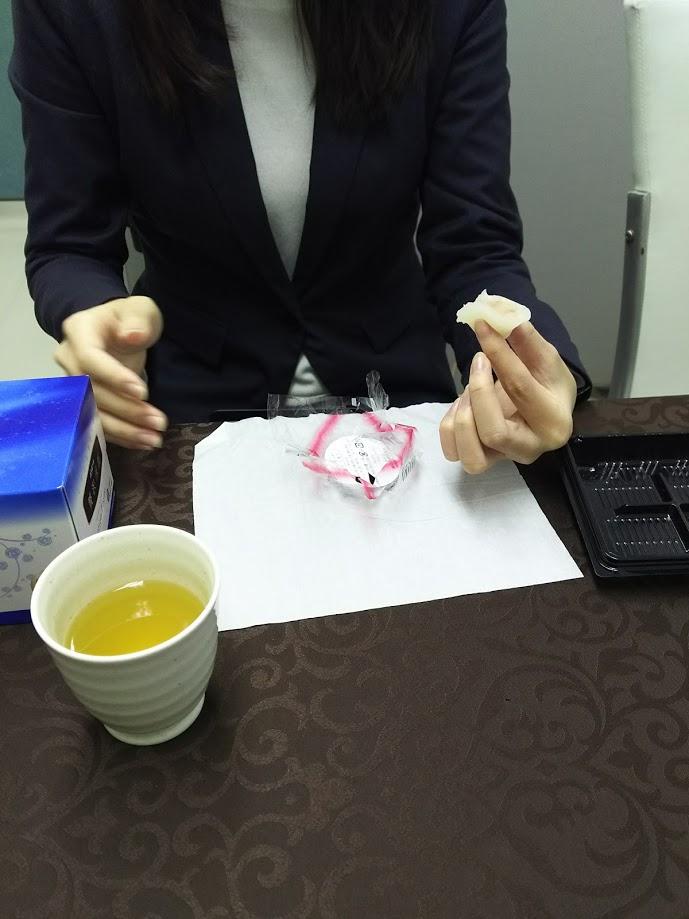 20代でバリバリの女性営業マンがご来店~撮影の打ち合わせ~