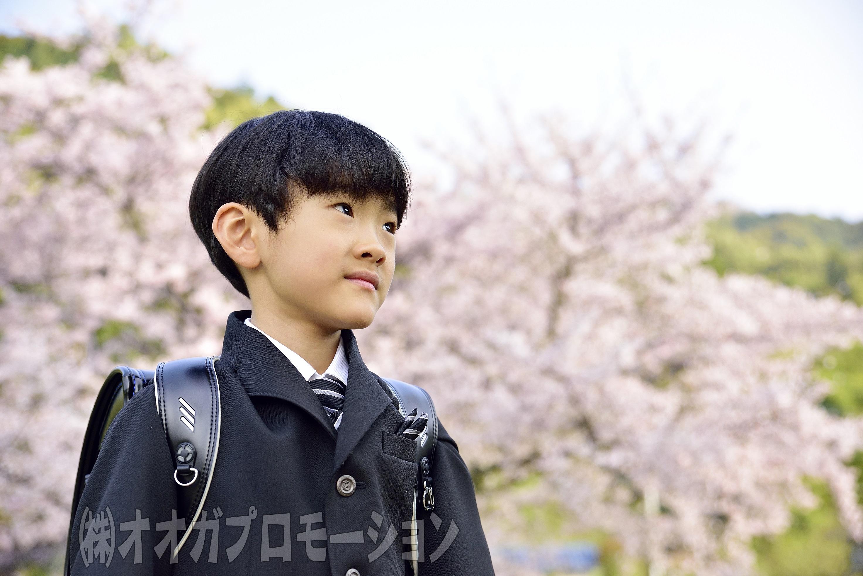 出張子供撮影~入学式の出張撮影~写真データもアルバム3冊も付いて35000円!